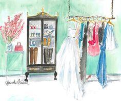 Lydia Marie Elizabeth Dream Closet design