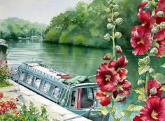 Water colour Art of Ann Mortimer