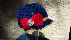 Crocheted Disney Princess Snow White Youth Hat by mydazzledesign, $22.00