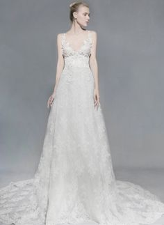 Available at Saks NYC and Saks Beverly Hills. Victoria KyriaKides' Cybele Haute Couture Dress from Bridal Spring 2016 collection. Trunk Show September 2015 2016 Wedding Dresses, Bridal Dresses, Wedding Gowns, Flowy Gown, Haute Couture Dresses, Bridal Musings, Bridal Collection, Victoria, Formal Dresses