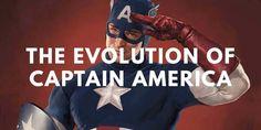 Karakter komik Captain America umurnya kini sudah hampir 80 tahun. Penasaran seperti apa evolusi karakter superhero tersebut?