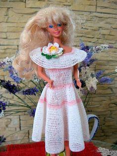 GREGOBLEN: Vestitino all'uncinetto per Barbie
