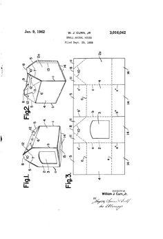 Patent US3016042 - Small animal house - Google Patents