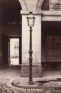 "Charles Marville, (French, 1813–1879). Hôtel de la Marine, 1864-1870. National Gallery of Art, Washington, Diana and Mallory Walker Fund   | This photograph is featured in ""Charles Marville: Photographer of Paris,"" on view through May 4, 2014. #paris"