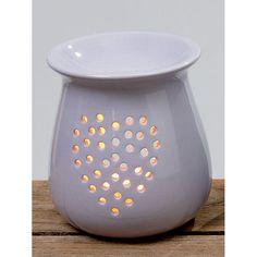 Duftstövchen Aromalampe Duftlampe Keramik flieder - 020884 -