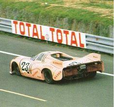 The Kauhsen/Jost Porsche 917/20, Le Mans 1971. It failed to finish.