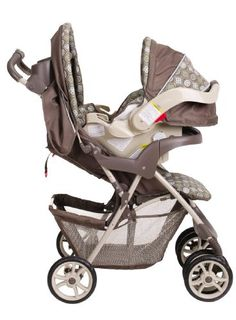 Graco Red Double Seated Twin Stroller and 2 Car Seats Travel System ...