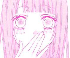 to hotaru shoujo manga manga edit Anime Girl Pink, Anime Girl Hot, Manga Girl, Anime Girls, Pink Aesthetic, Aesthetic Anime, Anime Eyes, Manga Anime, Pink Images