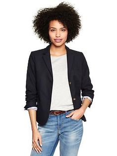 Can never go wrong with a Classic Navy Blazer and a great pair of jeans with a T shirt