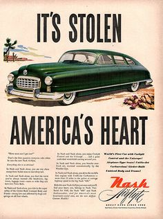 1949 Nash Automobile Original Car Print Ad