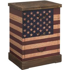 Christopher Knight Home Rustic Flag Three-drawer Chest ($220) ❤ liked on Polyvore featuring home, furniture, storage & shelves, dressers, red, colored dressers, mdf furniture, christopher knight home, colored furniture and red furniture