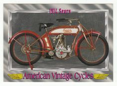American Vintage Cycles Series I # 25 1914 Sears - Champ 1992