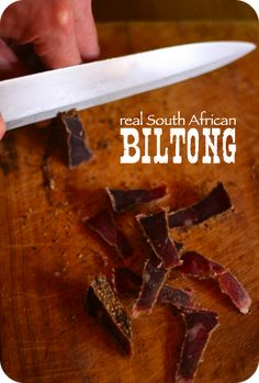I guess plan B is beef jerky Oxtail Recipes, Jerky Recipes, Meat Recipes, South African Recipes, South African Food, Real Homemade, Biltong, Beef Jerky, Venison