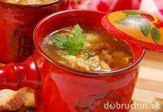 Držková z hlivy Moscow Mule Mugs, Thai Red Curry, Tableware, Ethnic Recipes, Food, Dinnerware, Meal, Dishes, Eten