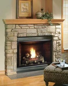 Home :: Fireplaces :: Gas Fireplaces :: Kingsman Gas Fireplace Heater - Millivolt - Natural Gas - Fireplace Heater, Home Fireplace, Fireplace Remodel, Living Room With Fireplace, Fireplace Design, Fireplace Mantels, Living Room Decor, Fireplace Ideas, Living Rooms