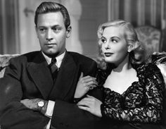William Holden & Jean Wallace