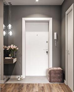 Какая прихожая вам нравится больше всего 1, 2 или 3? #ideidizajna_прихожая Авто Hallway Inspiration, Home Decor Inspiration, Hall Interior, Interior Design Living Room, Big Mirror In Bedroom, Porte Design, Home Entrance Decor, Hallway Designs, Modern Hallway