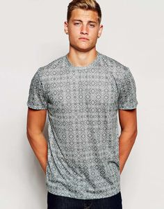 Image 1 of New Look Tile Print T-Shirt