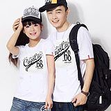 ql lovers Korean Korean men and women short-sleeved summer lovers summer t-shirt lovers shirt loose tide d33아시아바카라아시아바카라아시아바카라아시아바카라아시아바카라