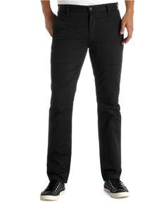 Levi's 511 Hybrid Slim-Fit Trouser Jeans, Black - Jeans - Men - Macy's