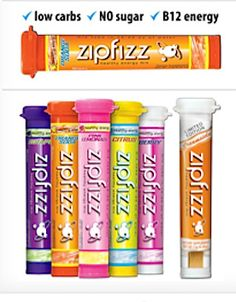 Zipfizz! My favorite drink all day.  The fruit punch tastes just like Hawaiian Punch.  My Doctor said this is just fine to have it will not hurt you.