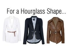 Jackets for a Hourglass Figure | www.diyfashion.com