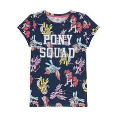 My Little Pony Tee | KmartNZ Fast Fashion, Slow Fashion, 3 Year Old Girl, Capsule Wardrobe, My Little Pony, Tees, Mens Tops, How To Wear, Stuff To Buy
