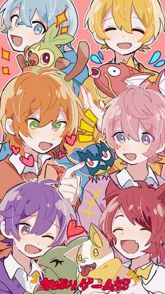 Chibi Boy, Anime Chibi, Kawaii Anime, Manga Anime, Anime Art, Pink Hair Anime, Blonde Anime Girl, Anime Best Friends, Friends Wallpaper