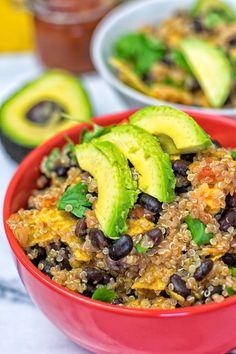Quinoa Taco Salad | #vegan #glutenfree www.contentednesscooking.com