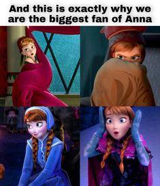 Disney Characters, Fictional Characters, Anna, Disney Princess, Fantasy Characters, Disney Princesses, Disney Princes