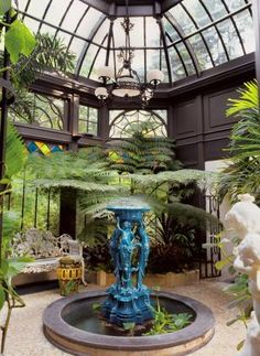 Tanglewood Conservatories' showcases its custom-designed, outdoor glass room conservatories, inspired by notable historical structures.