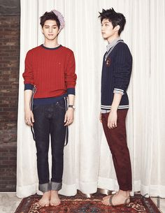 Ken and Hyuk - Ceci Magazine January Issue '14