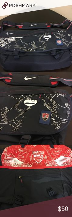Nike U.S.A Soccer Messenger Bag. Nike U.S.A Soccer Messenger Bag. Medium sized. Never used. Nike Bags Messenger Bags