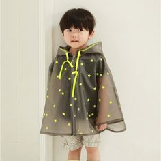 Children's Raincoats, Disposable Rain Ponchos/Set Of 2 | Rain ...