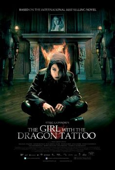 The Girl With The Dragon Tattoo! Watching it now and it is an awesome movie but a bit scarier than I thought!