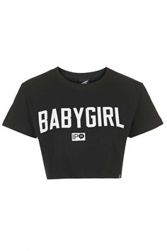 **Babygirl Wide Crop Top by Illustrated People