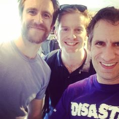 Rory + Gavin + Seth = 2Mormons/1Jew