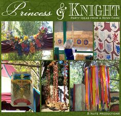 Princess and Knight Party Ideas from a Renaissance Faire