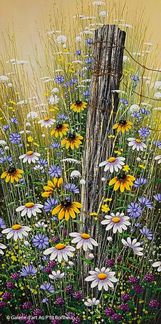 Jordan Hicks, Vintage Cedar, 15 x 30 Watercolor Landscape, Watercolor Flowers, Landscape Paintings, Watercolor Art, Lilac Painting, Painting & Drawing, Art Floral, Art Fractal, Fence Art