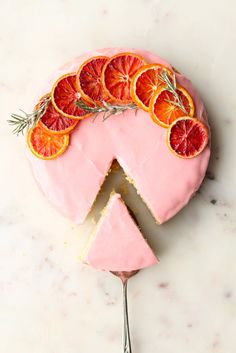 of the Most Beautiful Homemade Cake Decorating Ideas Blood Orange Cardamom CakeBlood Orange Cardamom Cake Cardamom Cake, Citrus Cake, Grapefruit Cake, Cake Recipes, Dessert Recipes, Dessert Food, Basic Cake, Think Food, Blood Orange