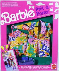 Barbie Pret-A-Porter Foreign Fashions #2965 New 1991 Mattel, Inc. 3+ | eBay