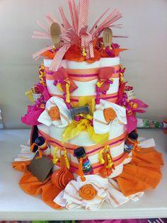 Wedding Shower gift- Paper Towel 'Cake'