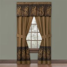 71 best Browning Home Decor images on Pinterest   Browning buckmark     Browning Buckmark Oak Tree Curtains
