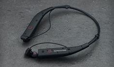 Phiaton BT100NC Wireless Active Noise Cancelling Neck Band Earphones w/ Mic…