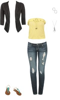 WetSeal.com Runway Outfit:  Work or Nice Day Out by Emma Green. Outfit Price $101.00