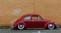 Supercars, German Look, Carros Vw, Vw Classic, Vw Vintage, Vw Cars, Vw Beetles, Beetle Bug, Red Beetle