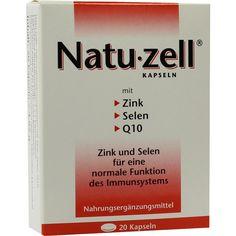 NATU ZELL Kapseln:   Packungsinhalt: 20 St Kapseln PZN: 09284341 Hersteller: Rodisma-Med Pharma GmbH Preis: 5,64 EUR inkl. 7 % MwSt.…