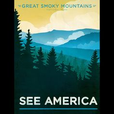 Great Smoky Mountains National Park by Jon Cain  #SeeAmerica