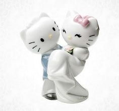 Too cute! Daniel and Kitty-chan looking so sweet. wedding-possibilities