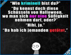 Das kam unerwartet o.o #nurSpaß #Witze #Humor #Halloween #Sprüche #eskaliert #lachen #Statusbilder #Memes